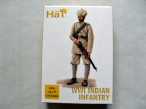 HAT INDUSTRIES 1/72 8236 WWI INDIAN INFANTRY