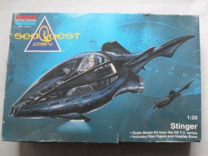 MONOGRAM 1/20 3602 SEAQUEST DSV STINGER