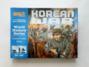 IMEX 1/72 529 KOREAN WAR US INFANTRY