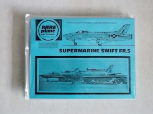 RAREPLANE 1/72 SUPERMARINE SWIFT FR.5