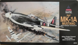 ACCURATE MINIATURES 1/48 3410 RAF Mk-1A MUSTANG