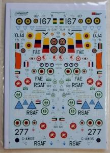 XTRADECAL 1/72 72238 BAC STRIKEMASTERS WORLDWIDE