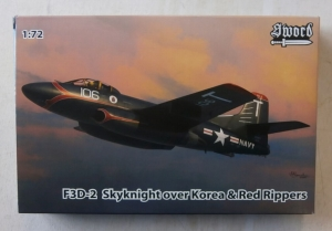 SWORD 1/72 72094 F3D-2 SKYKNIGHT OVER KOREA   RED RIPPERS
