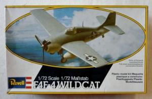 REVELL 1/72 4104 F4F-4 WILDCAT