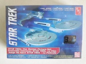 AMT  762 STAR TREK CADET SERIES 3 SHIP SET 1/2500