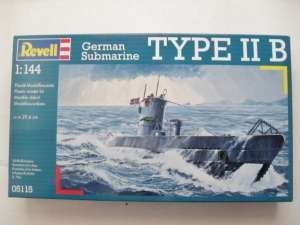 REVELL 1/144 05115 U-BOOT TYPE IIB