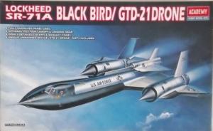 1/72 1642 LOCKHEED SR-71A BLACKBIRD/GTD-21 DRONE
