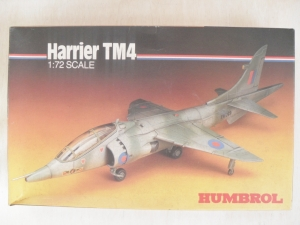HUMBROL 1/72 72009 HARRIER TM4