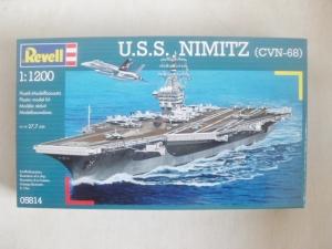 REVELL 1/1200 05814 USS NIMITZ CVN-68