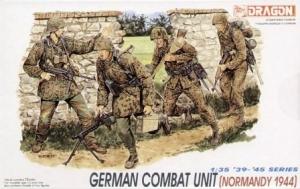 DRAGON 1/35 6003 GERMAN COMBAT UNIT NORMANDY 1944