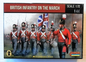 STRELETS 1/72 141 BRITISH INFANTRY ON THE MARCH