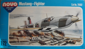 NOVO 1/72 78102 N.A. MUSTANG P-51A /Mk.II