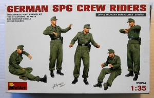 MINIART 1/35 35054 GERMAN SPG CREW RIDERS