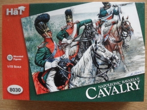 HAT INDUSTRIES 1/72 8030 NAPOLEONIC BAVARIAN CAVALRY