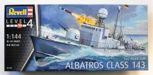 REVELL 1/144 05148 FAST ATTACK CRAFT ALBATROSS CLASS 143