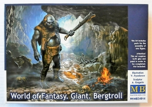 MASTERBOX 1/24 24014 WORLD OF FANTASY GIANT BERGTROLL