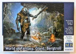 MASTERBOX 1/24 24014 WORLD OF FANTASY GIANT BERGTROLL