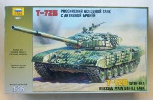 ZVEZDA 1/35 3551 T-72M2 WITH ERA