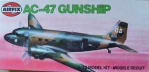 AIRFIX 1/72 04016 AC-47 GUNSHIP