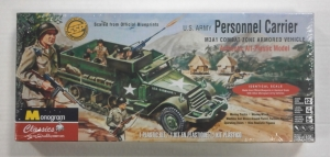 MONOGRAM 1/35 0035 U.S. ARMY M3A1 PERSONNEL CARRIER