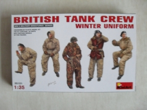 MINIART 1/35 35121 BRITISH TANK CREW WINTER UNIFORM