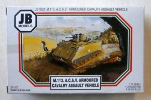 JB MODELS 1/76 1002 M113 ACAV