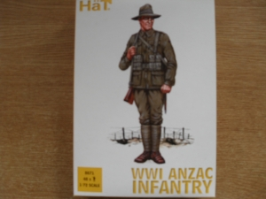 HAT INDUSTRIES 1/72 8071 WWI ANZAC INFANTRY