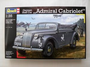 REVELL 1/35 03099 GERMAN STAFF CAR ADMIRAL CABRIOLET