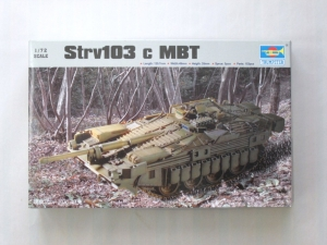 TRUMPETER 1/72 07220 STRV 103C SWEDISH MBT