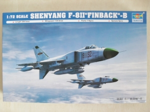 TRUMPETER 1/72 01610 SHENYANG F-811 FINBACK -B