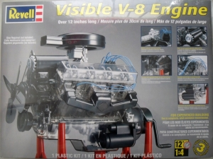 REVELL  8883 VISIBLE V-8 ENGINE 1/4  UK SALE ONLY