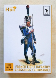 HAT INDUSTRIES 1/72 8252 FRENCH LIGHT INFANTRY CHASSEURS  COMMAND