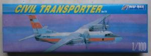 NU BEE 1/100 NB 205 CIVIL TRANSPORTER An-24