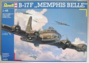 REVELL 1/48 04297 B-17F MEMPHIS BELLE