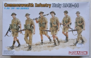DRAGON 1/35 6380 COMMONWEALTH INFANTRY ITALY 1943-44