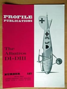 PROFILES AIRCRAFT PROFILES 127. ALBATROS DI-DIII