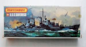MATCHBOX 1/700 PK-163 USS SAN DIEGO