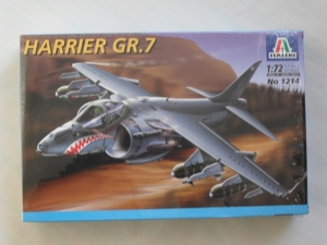 ITALERI 1/72 1214 HARRIER GR.7