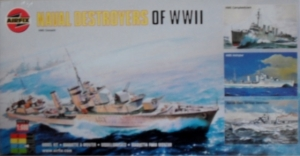 AIRFIX 1/600 05204 NAVAL DESTROYERS OF WWII