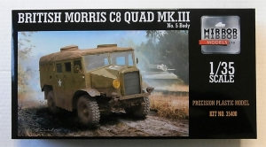 MIRROR MODELS 1/35 35400 BRITISH MORRIS C8 QUAD Mk.III No.5 BODY