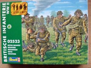 REVELL 1/72 02523 WWII BRITISH INFANTRY