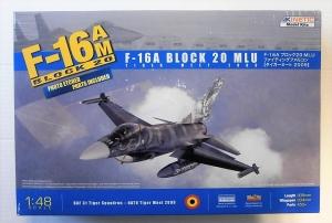 KINETIC 1/48 48036 F-16A BLOCK 20 MLU TIGER MEET 2009