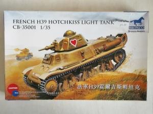 BRONCO 1/35 35001 FRENCH H39 HOTCHKISS LIGHT TANK