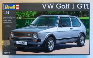 REVELL 1/24 07072 VW GOLF 1 GTI