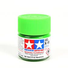 TAMIYA  81515 X-15 LIGHT GREEN ACRYLIC PAINT  UK SALE ONLY
