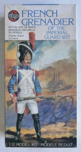 AIRFIX 1/12 03545 FRENCH GRENADIER OF THE IMPERIAL GUARD 1815