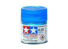 TAMIYA  81523 X-23 CLEAR BLUE ACRYLIC PAINT  UK SALE ONLY