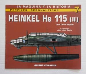 CHEAP BOOKS  ZB742 HEINKEL He 115  II  QUIRON EDICIONES