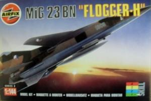AIRFIX 1/144 00102 MiG 23 BN FLOGGER H
