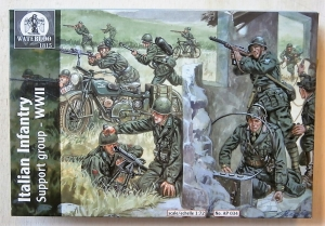 WATERLOO 1/72 AP034 ITALIAN INFANTRY SUPPORT GROUP WWII